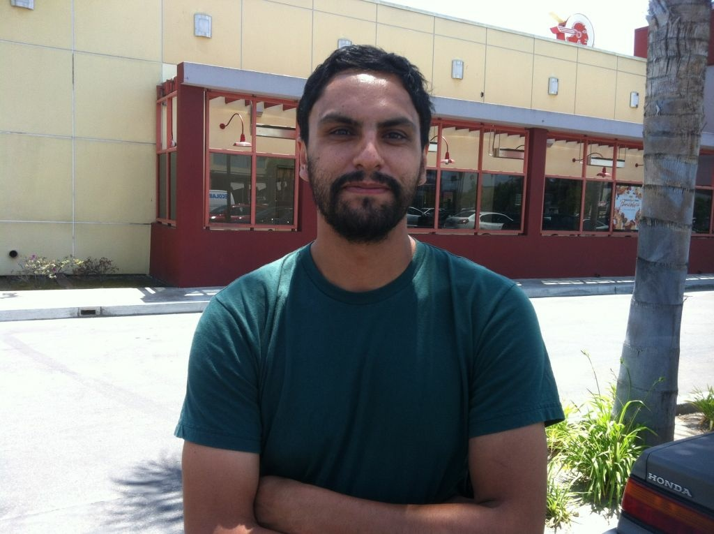 Felipe Solares, 26, supports Obama's position on same sex marriage, but doesn't believe other Latinos do.