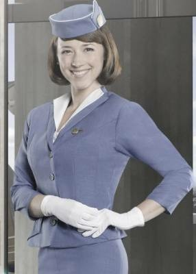 "Karine Vanasse plays Colette Valois on ABC's ""Pan Am"""