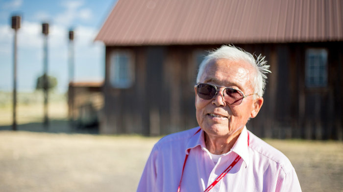 Jim Tanimoto worked on the freight crew, packing and shipping out produce from the Tule Lake farm. Along with many others, he refused to sign the infamous