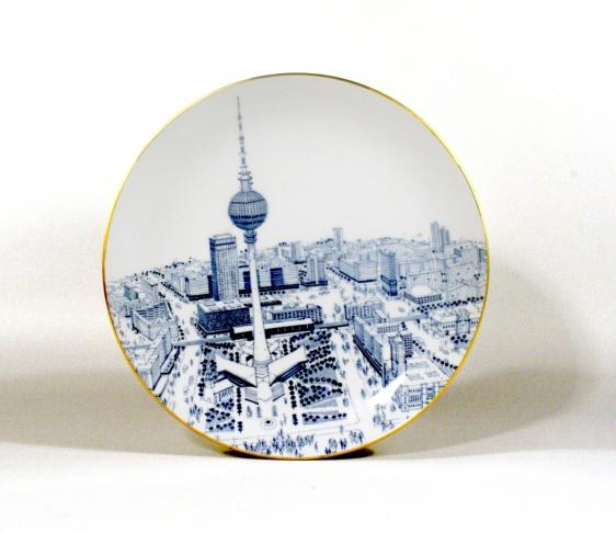 Fernsehturm plate