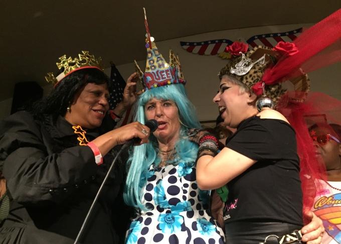 2016 Doodah Queen elect Ruby Chard