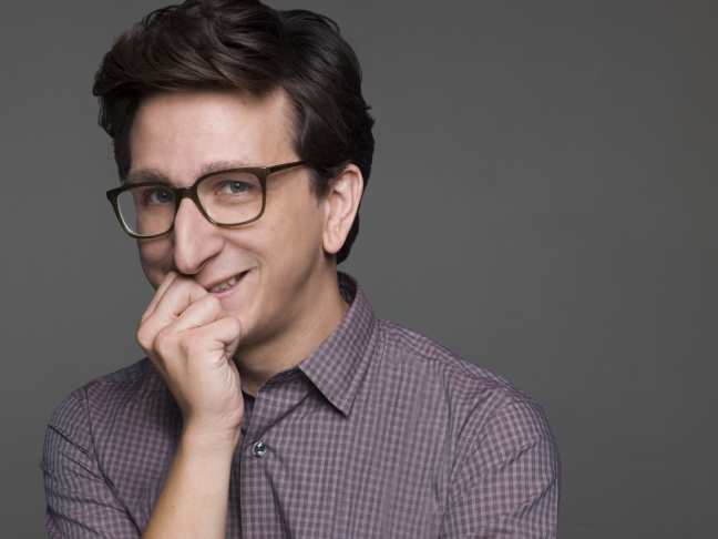 Paul Rust co-created and stars in the new Netflix show