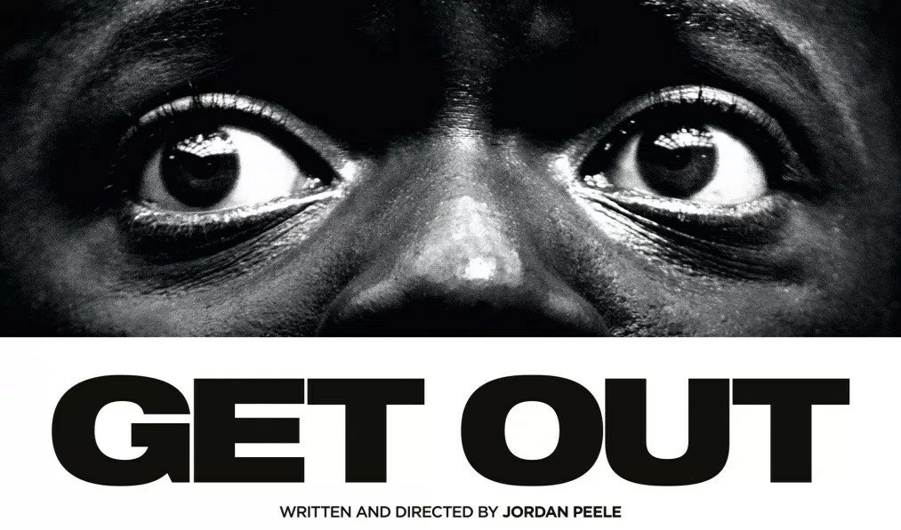 Movie poster for the 2017 film, Get Out.