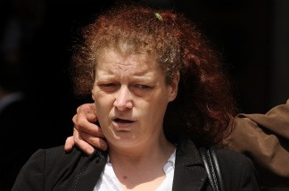 Joanne Fraill arrives at the High Court, in London, on June 14, 2011.