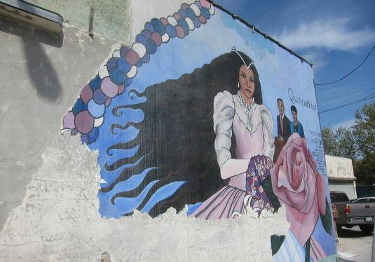 Echo Park 'Quinceañera' mural