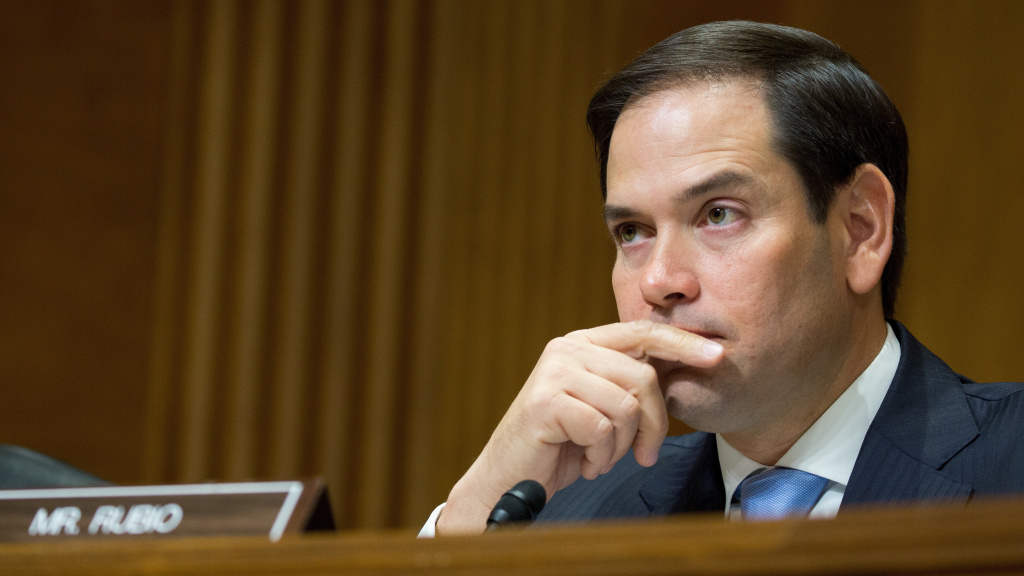 Sen. Marco Rubio, R-Fla., at Capitol Hill on July 20, 2017, in Washington, D.C.