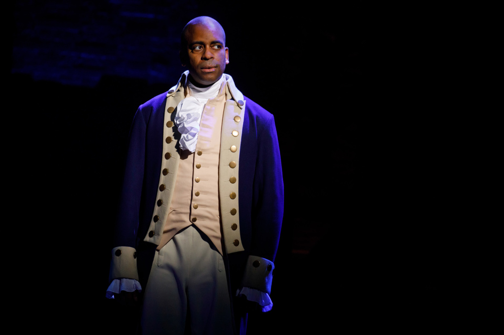On Broadway, Daniel Breaker shines as Alexander Hamilton's greatest rival, Aaron Burr. In the kitchen, he also creates a stir, sir.