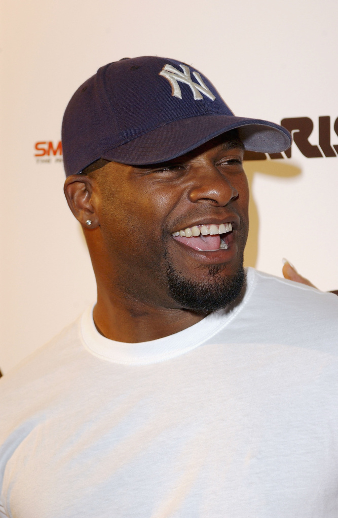 Adult film star Mr. Marcus arrives at the Smooth Pre-BET party at Club A.D. on June 23, 2003 in Los Angeles, California. He pled no contest recently to knowingly exposing his co-stars to syphilis. (Photo by Amanda Edwards/Getty Images)