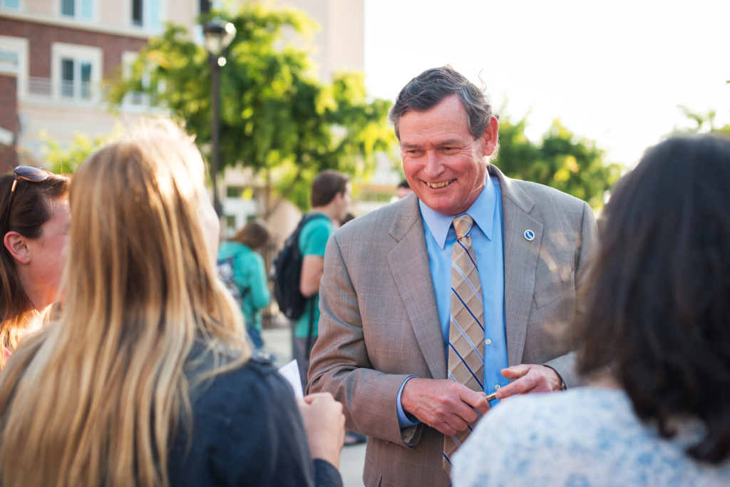 California State University Chancellor Tim White
