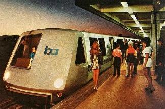 Ye olde Bay Area Rapid Transit (BART).