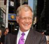 Talk show host David Letterman
