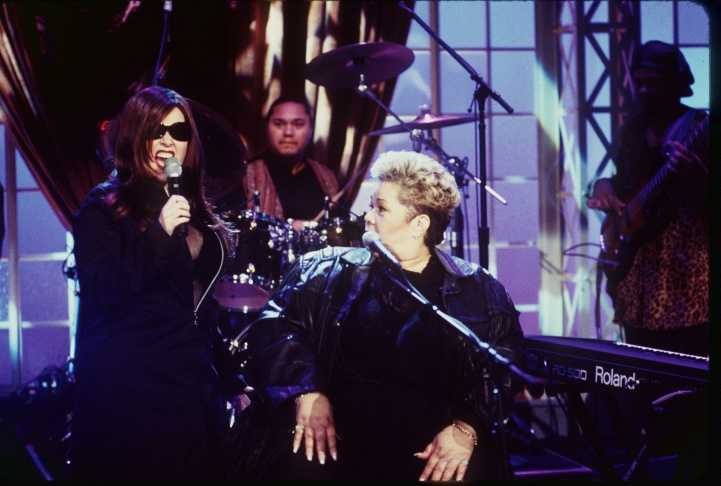 Etta James Singing With Roseanne Airs February 9 In National Syndication Photo By Rick Rowell