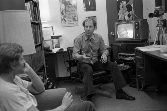UC Irvine drama teacher Robert Cohen in 2008.