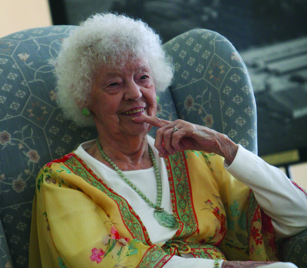 Ethel Beyer died in November at age 104. She was California Lutheran University's first employee.