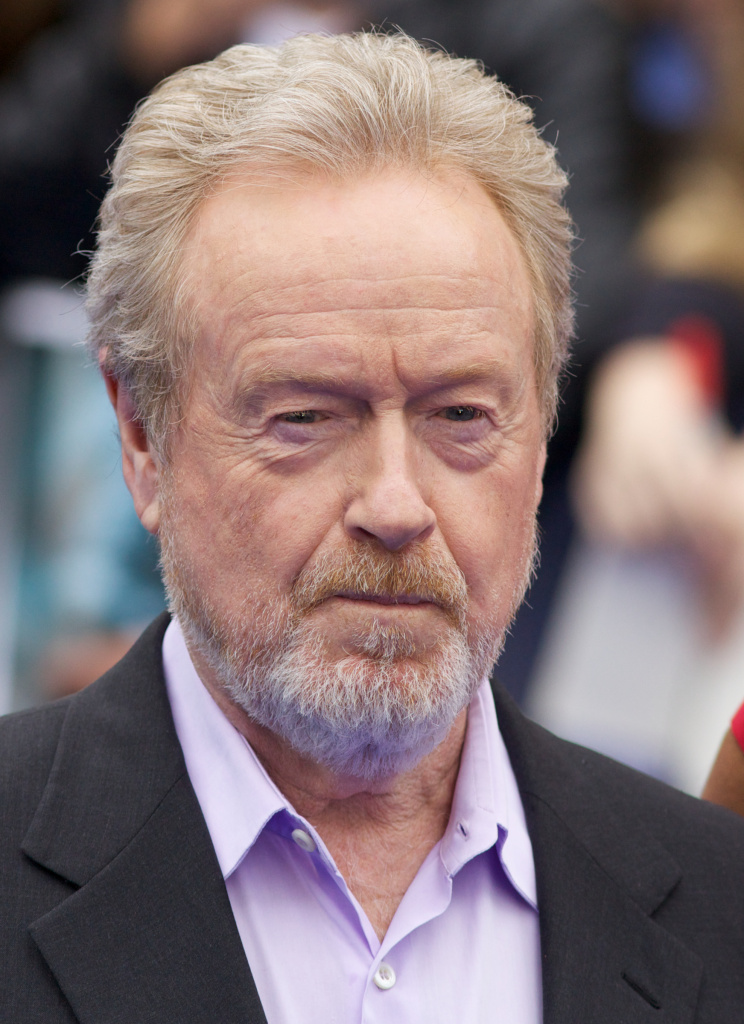 English Director Sir Ridley Scott arrives on the red carpet to attend the world premiere of the film 'Prometheus' in London on May 31, 2012.