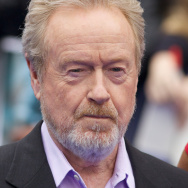 English Director Sir Ridley Scott arrive