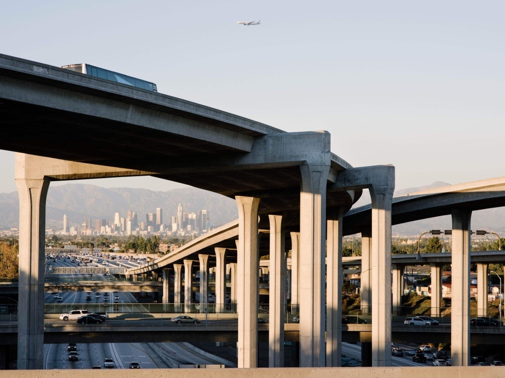 Los Angeles is a sprawling metropolis, and it was poised to become a manufacturing giant because of its unique geography. As industry grew, so did an infrastructure of freeways that connects the ports to the eastern reaches of Los Angeles and San Bernardino counties, where factories had the space to expand.