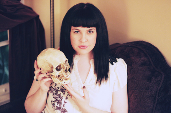 Licensed mortician Caitlin Doughty, star of YouTube's