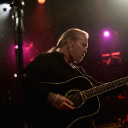 """Gregg Allman performs during """"All My Friends: Celebrating the Songs & Voice of Gregg Allman"""" at The Fox Theatre in Atlanta in 2014."""