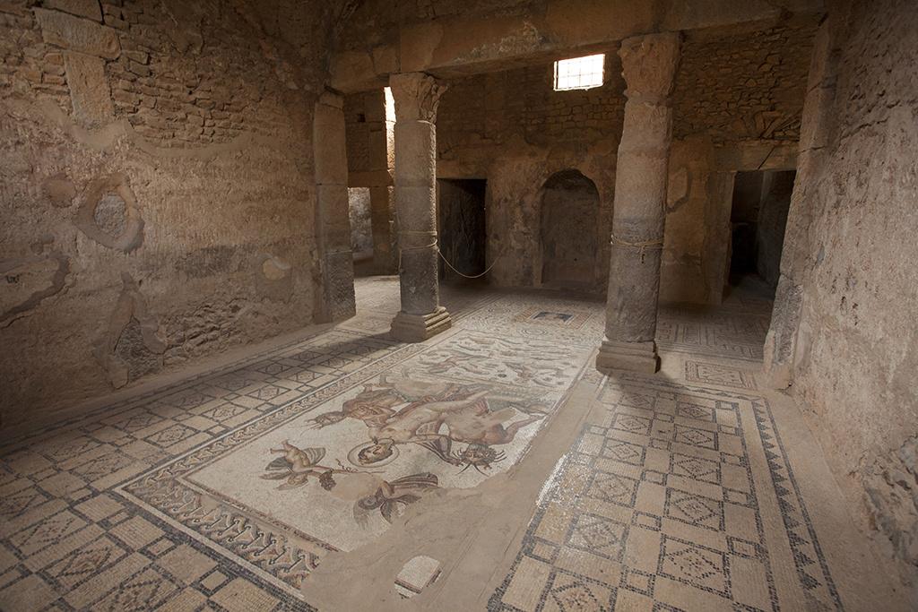 Subterranean room in the House of Amphitrite, Bulla Regia, Tunisia. Courtesy of the Getty Conservation Institute.