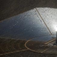 Mojave Desert Flyover - Ivanpah Solar Power Facility