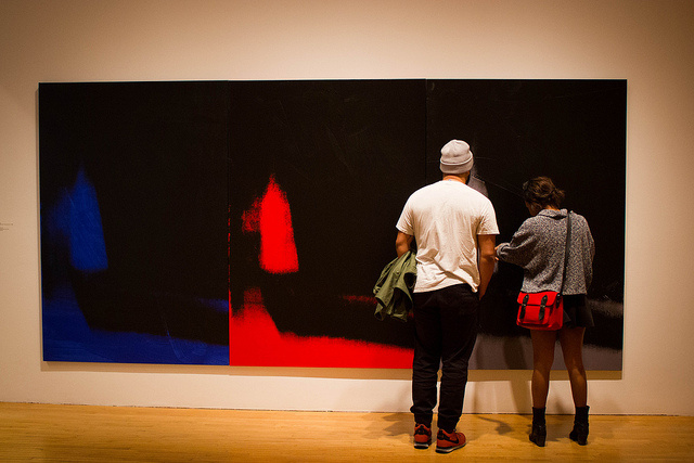 """Andy Warhol: Shadows"" at the Museum of Contemporary Art."