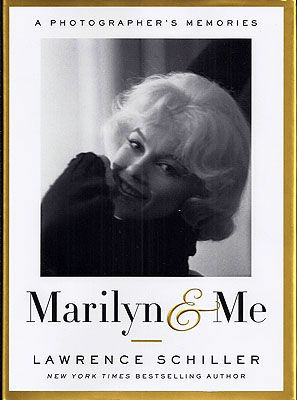 "Cover of the TASCHEN book ""Marilyn & Me"" by photographer Lawrence Schiller."