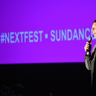 "HOLLYWOOD, CA - AUGUST 02:  Next Fest director of programming Trevor Groth, attends the Sundance NEXT FEST Kickoff Screening Of ""Cop Car"" at Hollywood Forever on August 2, 2015 in Hollywood, California.  (Photo by Frazer Harrison/Getty Images for Sundance)"