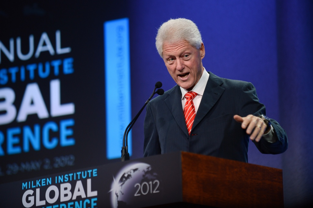 Bill Clinton strongly recommends that we embrace communitarianism, not separatism.
