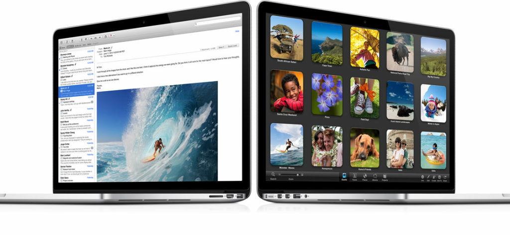 Apple's newest MacBook Pro with Retina Display.