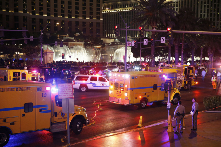 This photo provided by the Las Vegas Metropolitan Police Department shows Lakeisha N. Holloway, who police said smashed into crowds of pedestrians on the Las Vegas Strip on Sunday, Dec. 20, 2015, killing one person and injuring dozens.