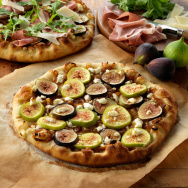 Mouth watering yet? As of now, you can only get a pizza like this in the summer and fall. Farmers in California are trying to change that by growing figs at least from April through February.