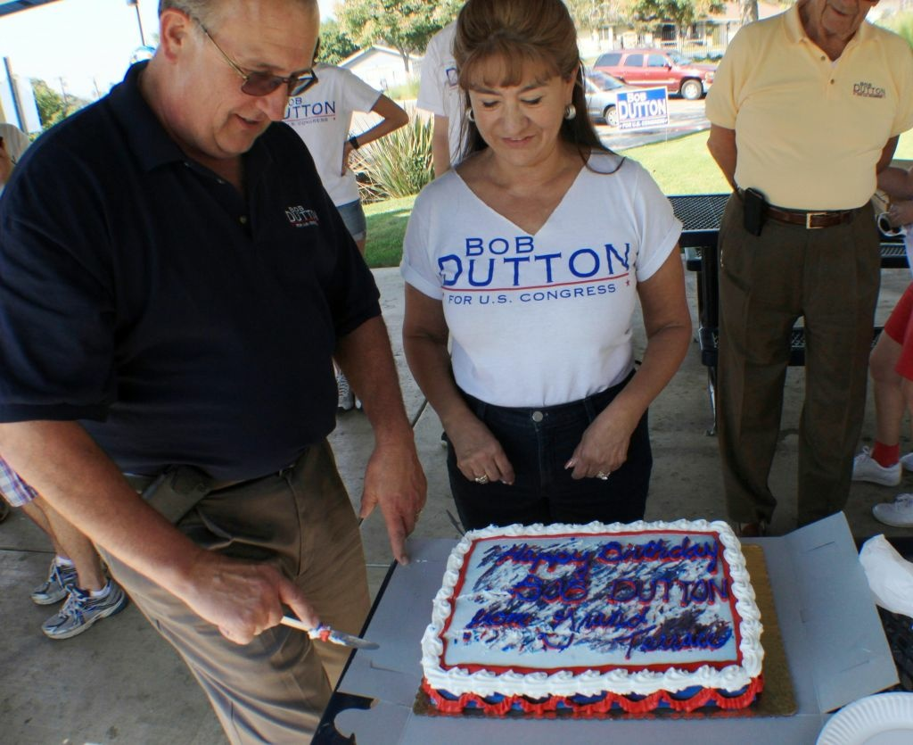 Republican Congressional candidate Bob Dutton has felt the sting of the state GOP endorsing his same-party opponent, incumbent Gary Miler.