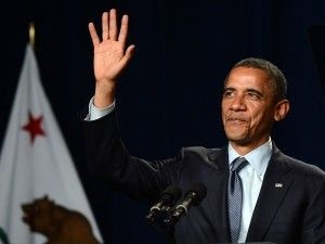President Barack Obama at a campaign event in Redwood City, Calif., May 23, 2012