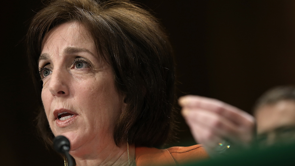 Roberta Jacobson testifies before the Senate Foreign Relations Committee in May 2015.