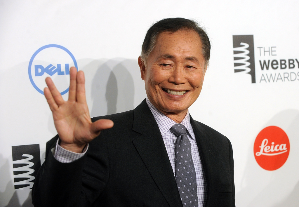 Actor George Takei attends 18th Annual Webby Awards  on May 19, 2014 in New York, United States.