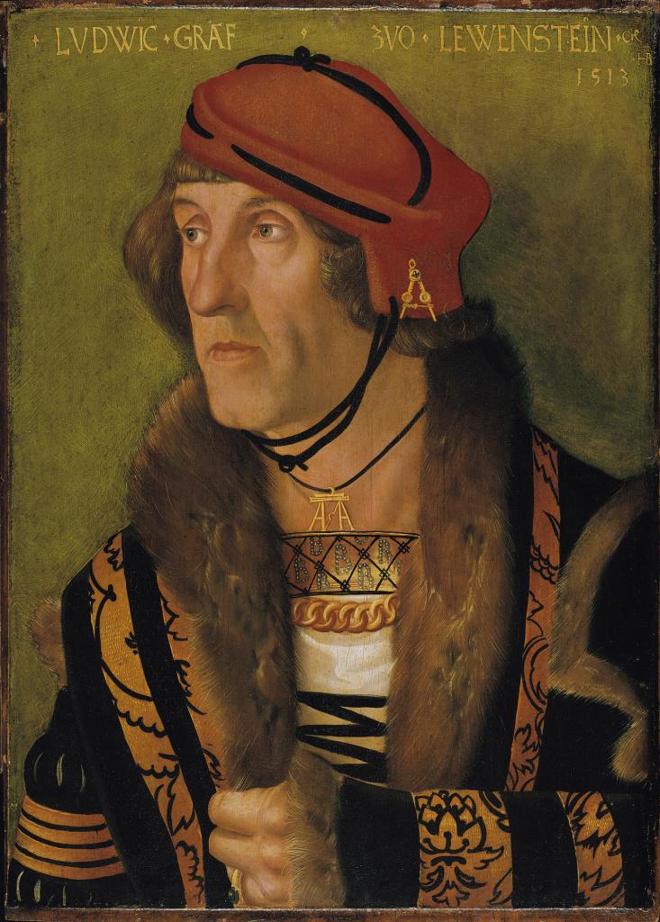 Hans Baldung Grien's Portrait of Ludwig Count von Löwenstein, 1513