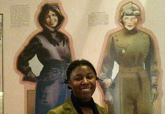 """Sherri L. Smith, author of """"Flygirl,"""" a fictional account based on the Women Airforce Service Pilots, or WASPS, who contributed to the World War II effort stateside."""