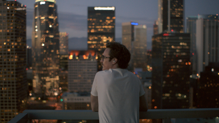 Joaquin Phoenix as Theodore in the romantic drama