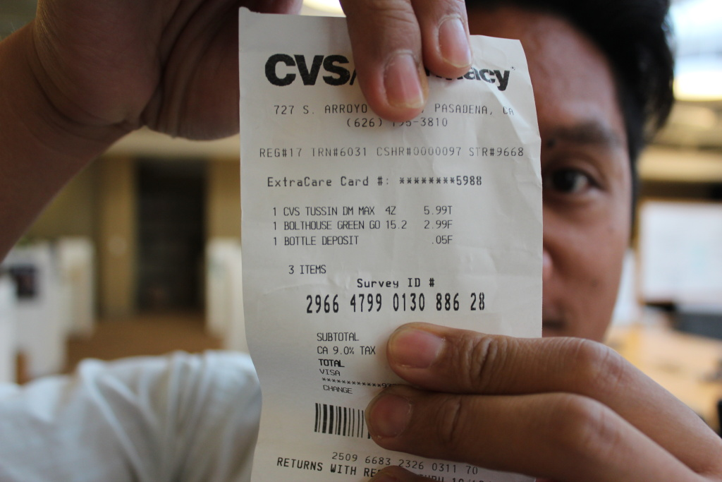take two what s the deal with those comically long cvs receipts
