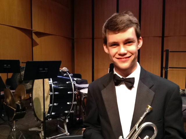Santa Monica orchestra member Eli Brown