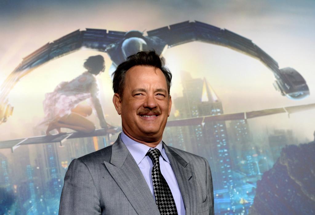 Actor Tom Hanks arrives at the premiere of Warner Bros. Pictures'