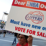 Demonstrators Protest Racist Comments Made By L.A. Clippers Owner Donald Sterling