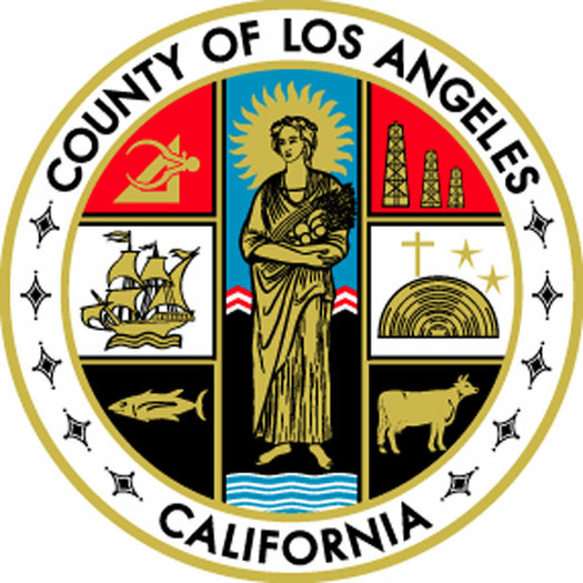 The County of Los Angeles' official seal included a tiny cross for nearly half a century, until it was changed in 2004.