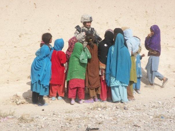 Baker in Afghanistan