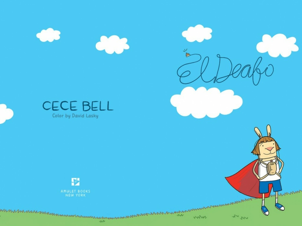 Cece Bell's new children's book,