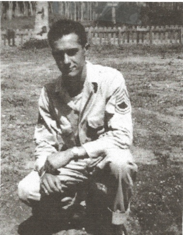 TSgt Vincent Migliazzo served in the U.S. Army during World War 2, shown here in 1945. Today, Migliazzo serves as Adjutant of American Legion Post 177 in Venice, Calif.
