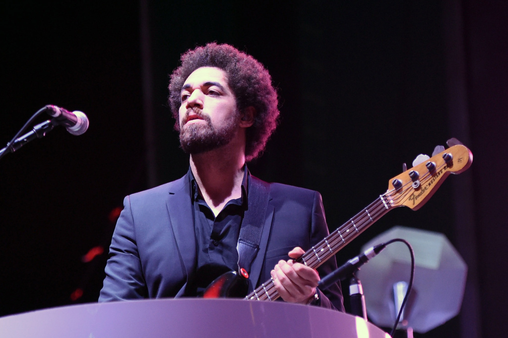 Producer Danger Mouse performs with Broken Bells, a collaborative project with James Mercer of The Shins.