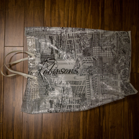 Heaven was a popular novelty shop that used to be located in Century City.  Bag courtesy of Alison Martino/Vintage Los Angeles
