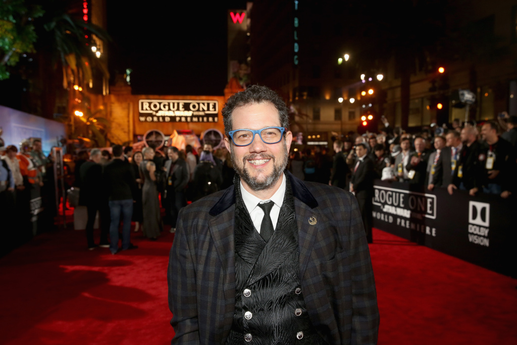 Composer Michael Giacchino attends The World Premiere of Lucasfilm's highly anticipated, first-ever, standalone Star Wars adventure,
